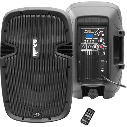 Pyle Pro PPHP837UB 600 Watt Powered Speaker with Remote