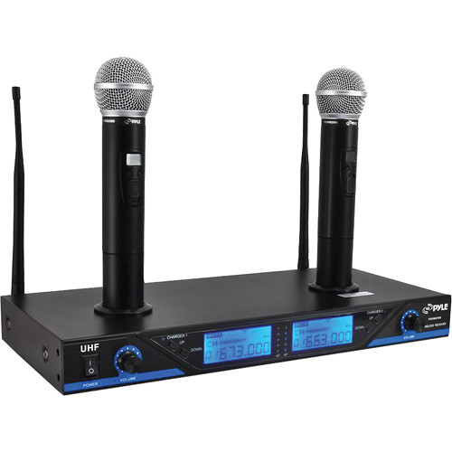 Pyle Pro Premier Series PDWM2560 Wireless Microphone System