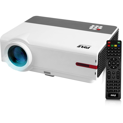 Pyle Pro PRJAND818 WXGA LCD Home Theater Projector with Wi-Fi