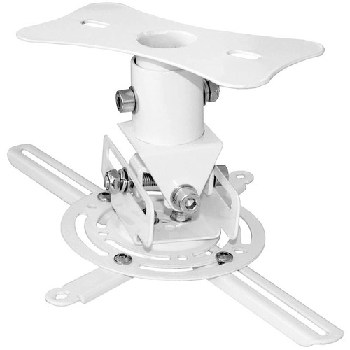 Pyle Pro Universal Projector Ceiling Mount Quick Release Bracket with Rotation & Tilt Adjustment