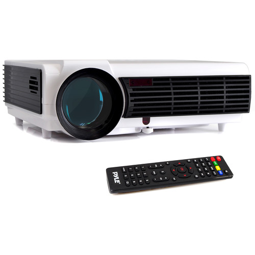 Pyle Pro PRJD903 2000-Lumen Multimedia Projector with 1080p Support