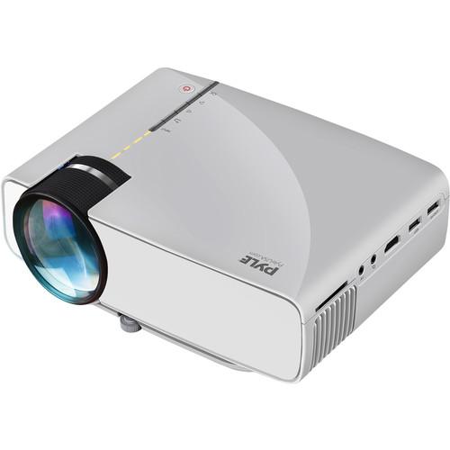 Pyle Pro PRJG74 1200-Lumen WVGA LCD Projector