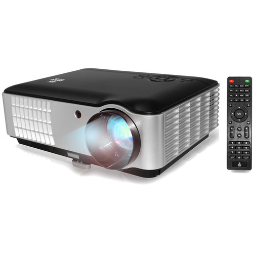 Pyle Pro Hi-Res 2800-Lumen Home Theater Multimedia HD Projector with USB Flash Reader and 1080p Support