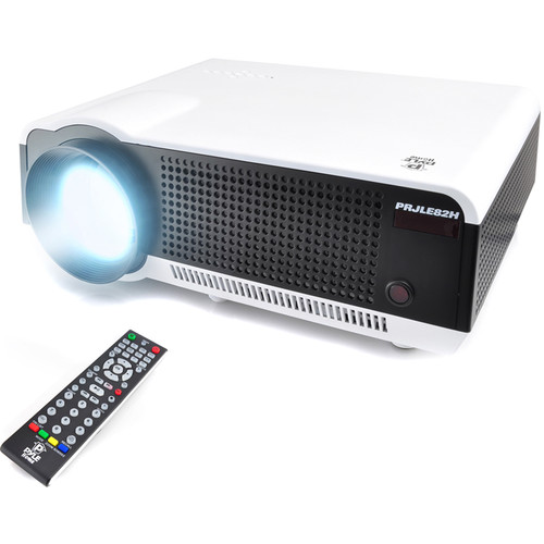 Pyle Pro PRJLE82H 2700L WXGA LCD Projector with 1080p Support & USB Reader