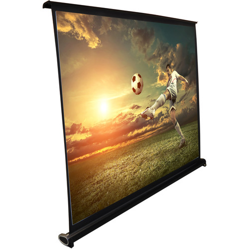 "Pyle Pro 50"" Projector Screen, Manual Retractable Pull-Out Style (40 x 30'')"