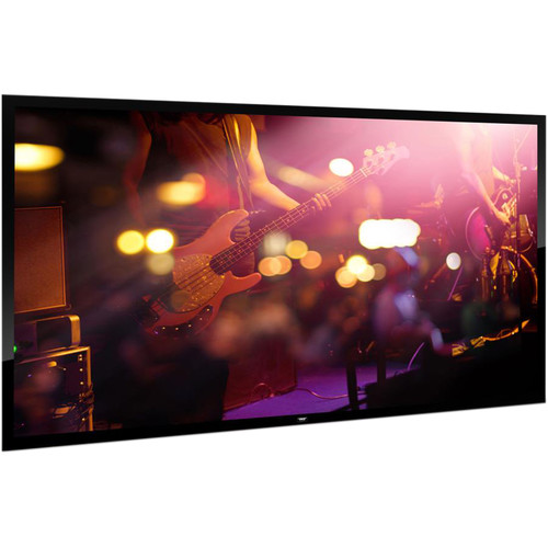 """Pyle Pro Fixed Wall Mount Projector Screen (100"""")"""