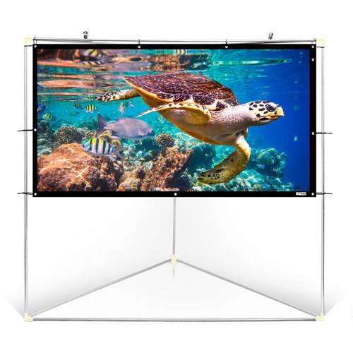 "Pyle Pro Portable Outdoor Projector Screen (100"")"