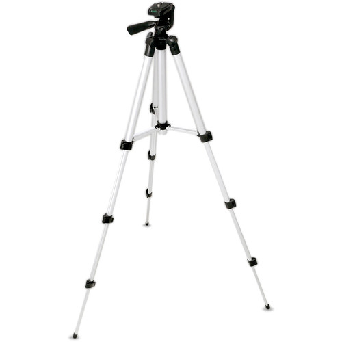 Pyle Pro Universal Lightweight Portable Aluminum Tripod Stand for Camera