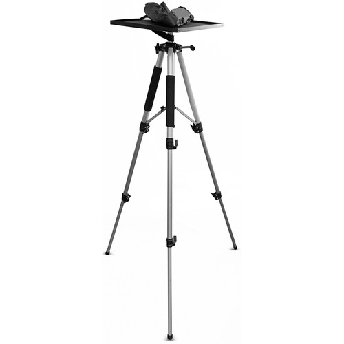 Pyle Pro Tripod Style Video Projector Mount Stand with Rotating Plate (up to 33 lb Load)