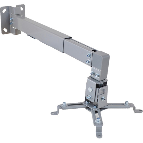 Pyle Pro Universal Projector Wall Mount with Telescoping Length & Angle/Tilt Adjustment
