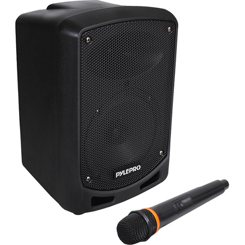 """Pyle Pro PSBT65A Portable 6.5"""" 2-Way 600W Wireless and Bluetooth-Enabled Karaoke PA System"""