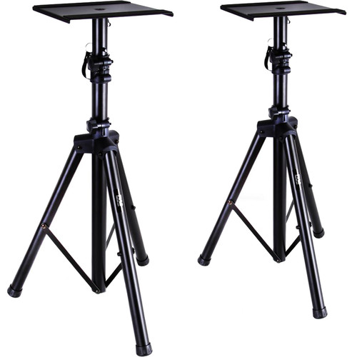Pyle Pro Universal Monitor Speaker Stands (Pair)