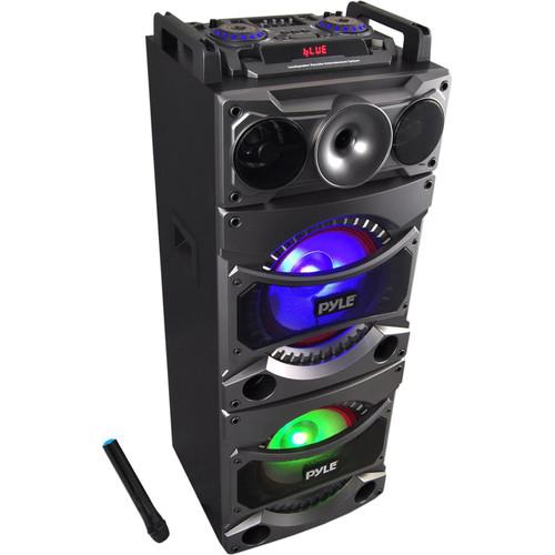 Pyle Pro Disco Jam 2 Bluetooth 2400W PA Loudspeaker Karaoke Entertainment System