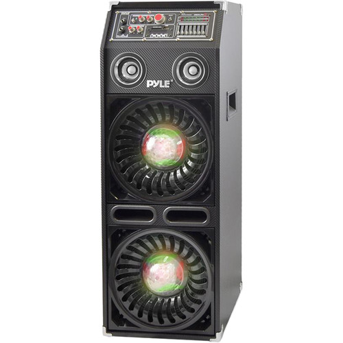 Pyle Pro Disco Jam 2 Bluetooth 1200W Active Powered PA Dual Speaker System