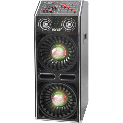 Pyle Pro Disco Jam 2 Bluetooth 1500W Active Powered PA Dual Speaker System