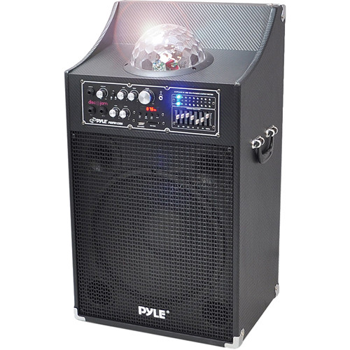 "Pyle Pro PSUFM1230A 12"" 2-Way 1000 Watt Powered Disco Jam Speaker"