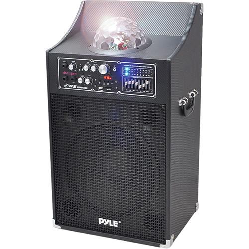"Pyle Pro PSUFM1230A 12"" 2-Way 1000 Watt Powered Disco Jam Speaker"