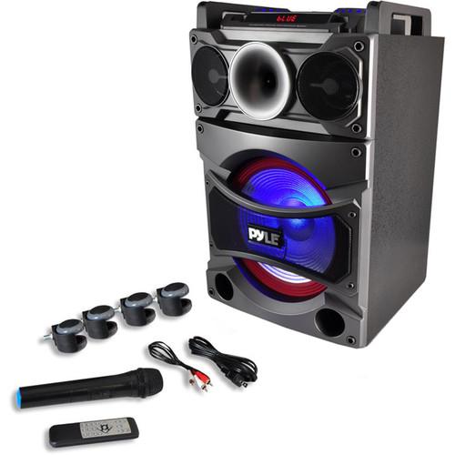 "Pyle Pro Disco Jam 2 Bluetooth 2000W 12"" Active-Powered Karaoke Entertainment System"