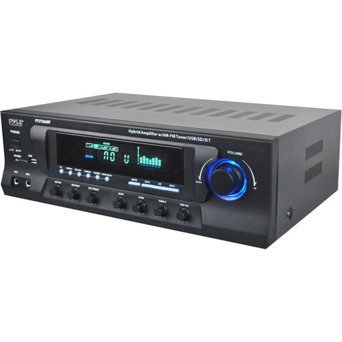 Pyle Pro PT272AUBT Stereo Receiver with Bluetooth