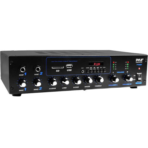 Pyle Pro PT506BT Stereo Receiver with Bluetooth