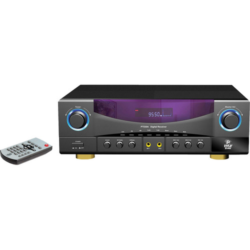 Pyle Pro PT530A Stereo Receiver with AM/FM Tuner