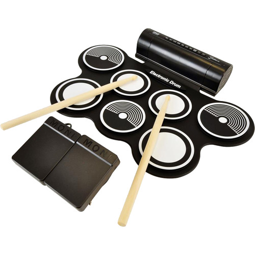 Pyle Pro PYPTEDRL12 Roll-Up Electronic Drum Kit