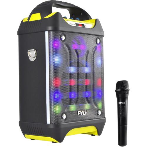 "Pyle Pro Portable Bluetooth Karaoke Speaker System (6.5"")"