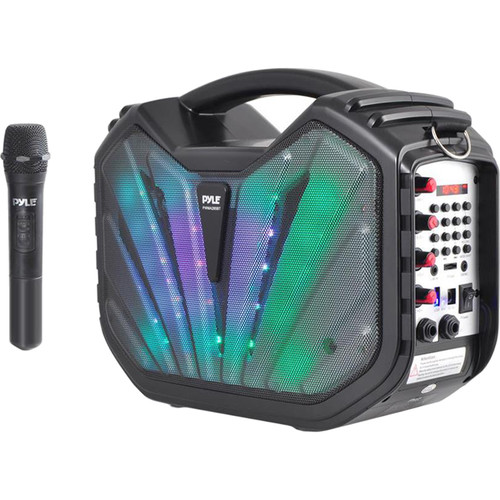 "Pyle Pro Portable Bluetooth Karaoke Speaker System (5.25"")"