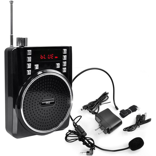Pyle Pro Portable Bluetooth Radio & PA Speaker System