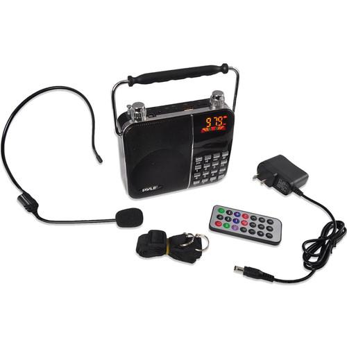 Pyle Pro Portable Karaoke Radio & PA Speaker System