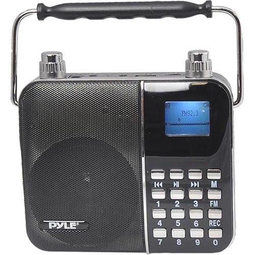 Pyle Pro Sing Along Portable Karaoke Radio & PA Speaker System