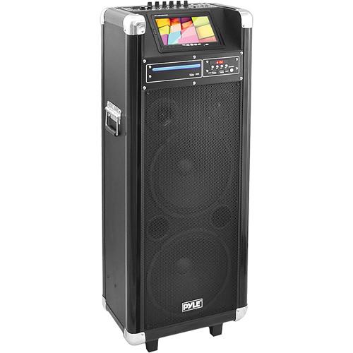 """Pyle Pro PKRK212 12"""" 1000 Watt Karaoke Vibe Portable PA Speaker"""