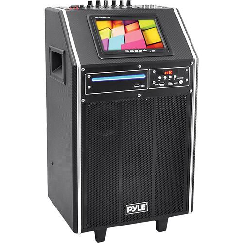 """Pyle Pro PKRK8 8"""" 300 Watt Karaoke Vibe Portable PA Speaker"""
