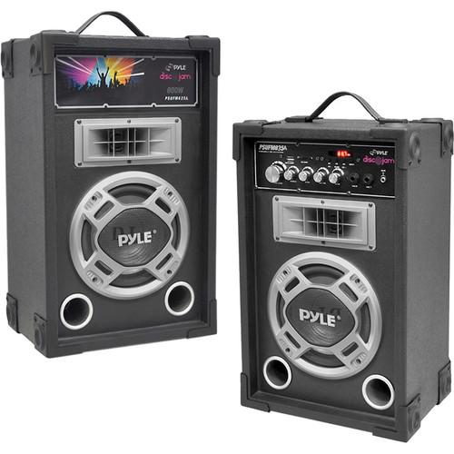 Pyle Pro PYPSUFM835A Disco Jam Dual 800W 2-Way Speaker System