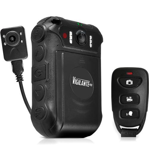 PYLE-SPORTS Vigilante Pro Compact Action Body Camera