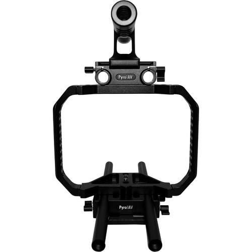 Pyro AV Cage System for Blackmagic Cinema Camera
