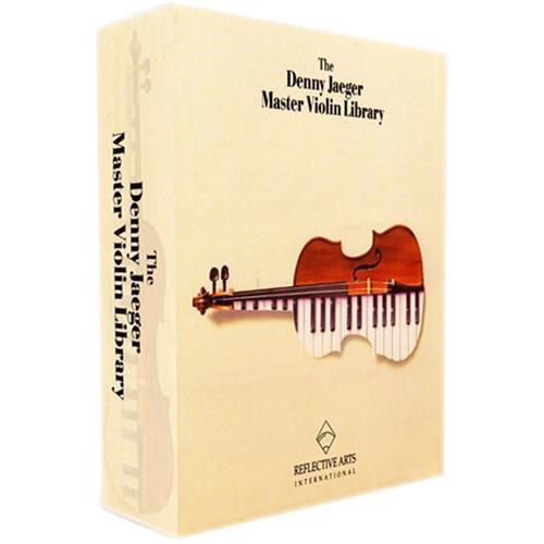 Q Up Arts Denny Jaeger Master Violins Volume 3 Trems, Trills & Pizz, Logic EXS (Download)