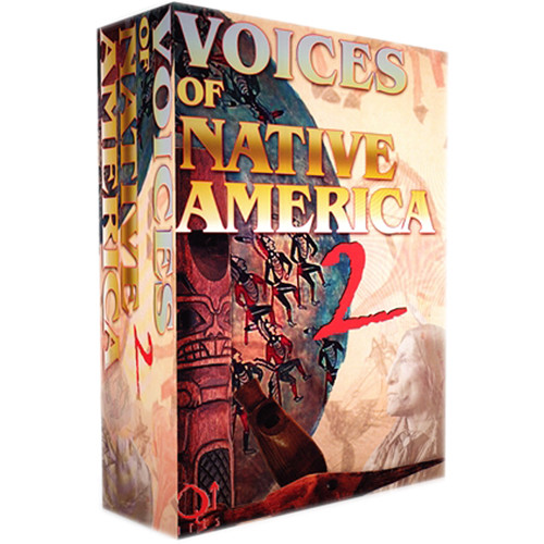 Q Up Arts Voices of Native America Volume 2 Apple Logic EXS (Download)