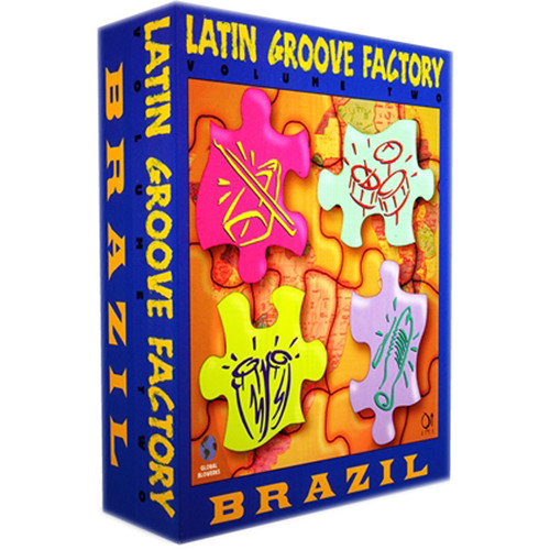 Q Up Arts Latin Groove Factory Volume 2 Brazil Logic EXS (Download)