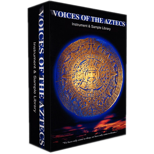 Q Up Arts Voices of the Aztecs Apple Logic EXS (Download)