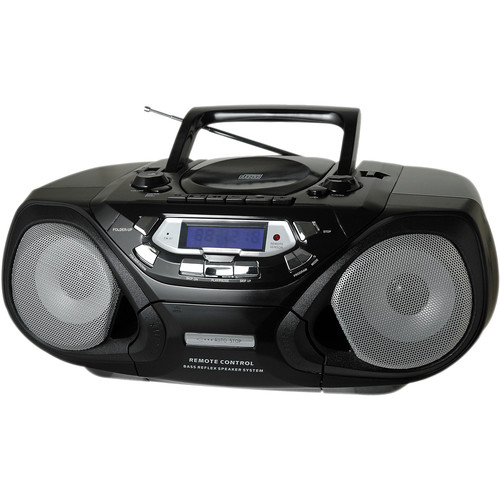 QFX Portable CD and Cassette Player with AM/FM Radio