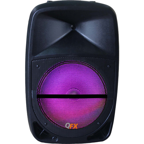 "QFX 15"" Portable 4600W Bluetooth Party Speaker"