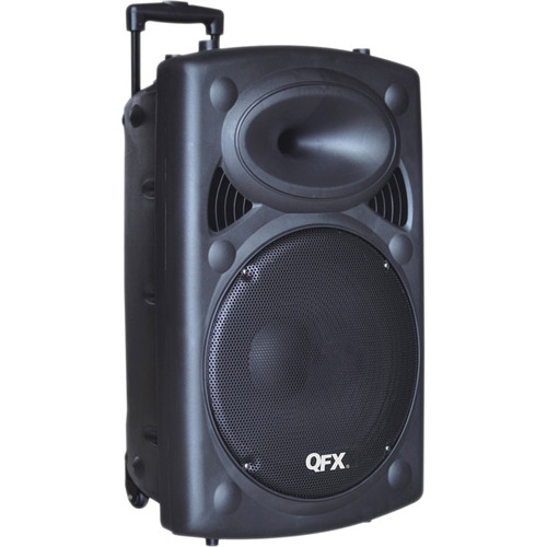 """QFX Tailgate Battery Powered 8"""" Bluetooth PA Speaker"""