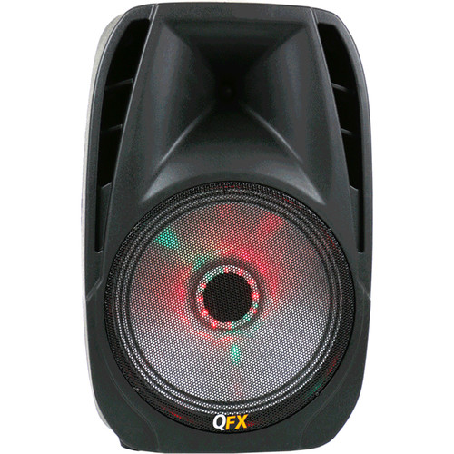 QFX PBX-61155 Portable Battery-Powered Bluetooth PA Speaker