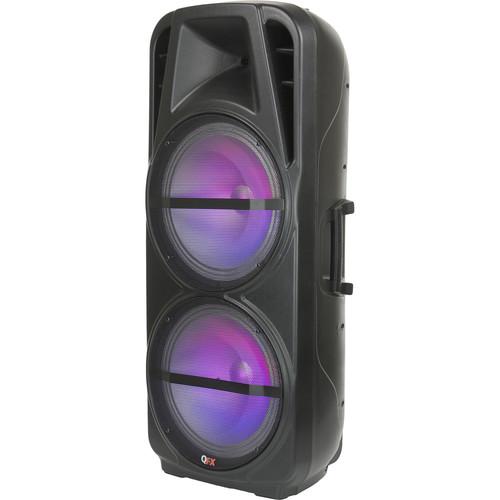 QFX Dual 15¿ Bluetooth Portable PA System