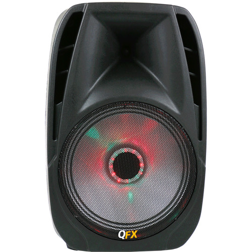 "QFX Portable Bluetooth Party Speaker with LED Effects (10"" Woofer)"
