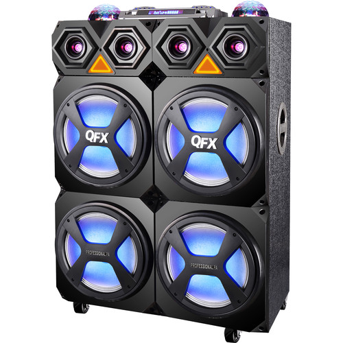 QFX SBX-104 High-Powered Pro PA Speaker