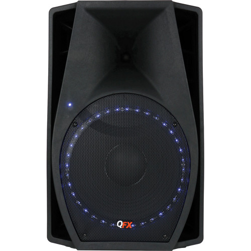 QFX SBX-1518BTL Speaker With Built-In Amplifier and Bluetooth