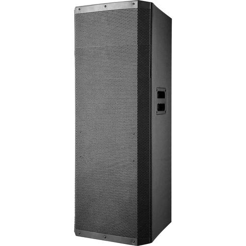 "QFX 2x15"" Bluetooth Cabinet Pro PA Speaker with USB, SD, & FM Radio (Black)"