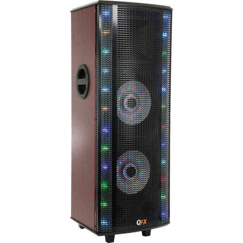 QFX SBX-SBX-721000BTL HI-FI Tower Speaker With Built-In Amplifier and Bluetooth